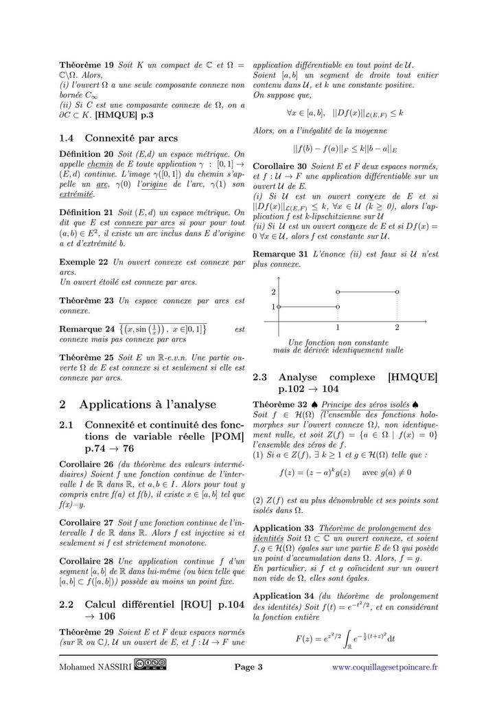 204 - Connexité. Exemples et applications.