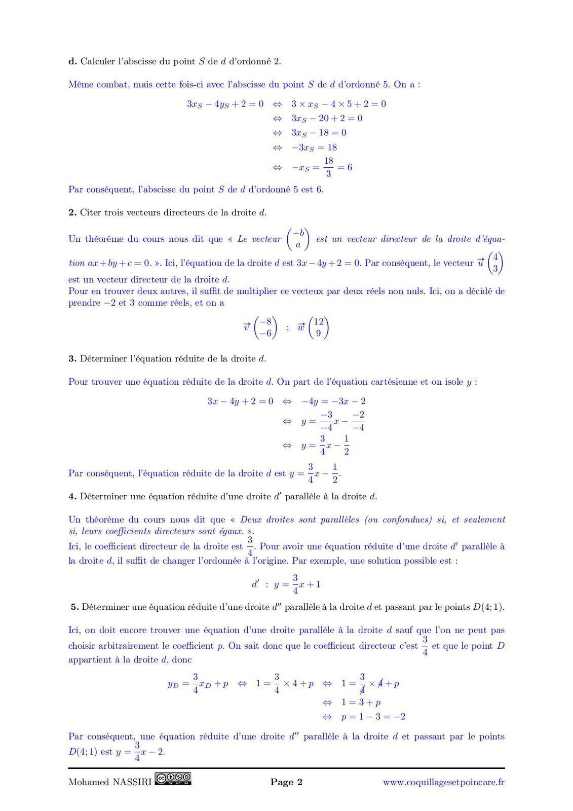 Calvaire n°16 - Correction Calvaire n°16