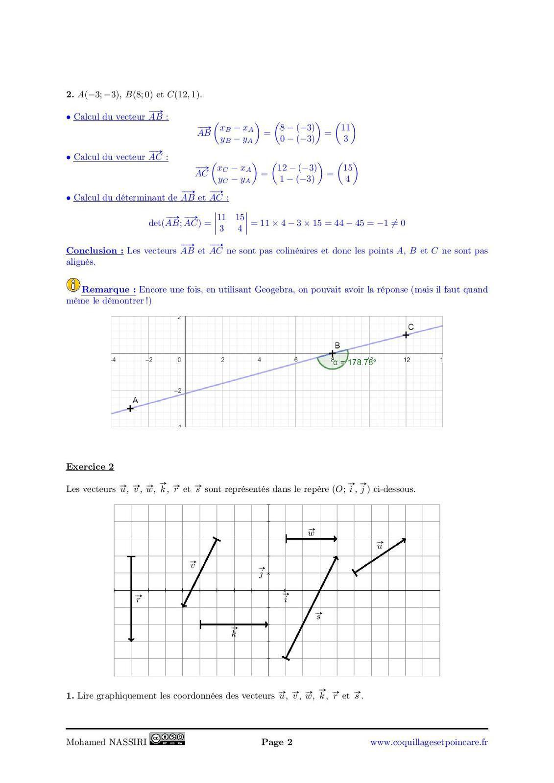 Calvaire n°10-Correction Calvaire n°10