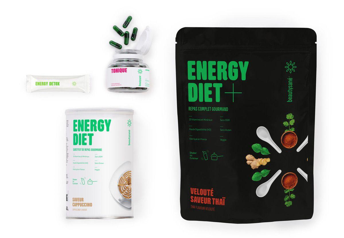 Gamme Energy Diet by Beautysané