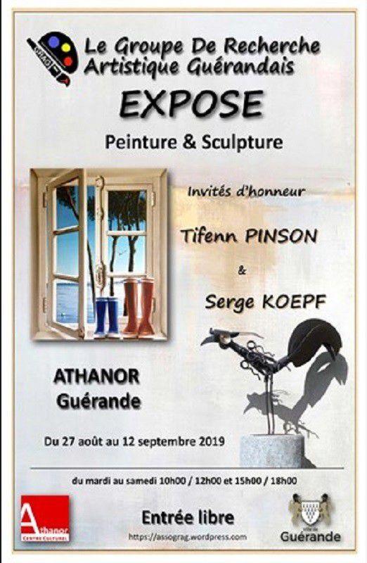 Athanor - Exposition du GRAG - 27 aout-12 septembre 2019