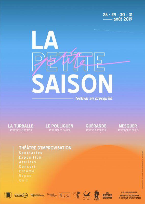 La Petite Saison - Festival d'impro - 28-31 août en presqu'île de Guérande