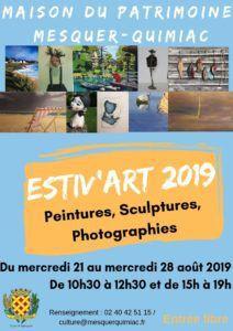 Mesquer - Estiv'Art jusqu'au 28 aout 2019