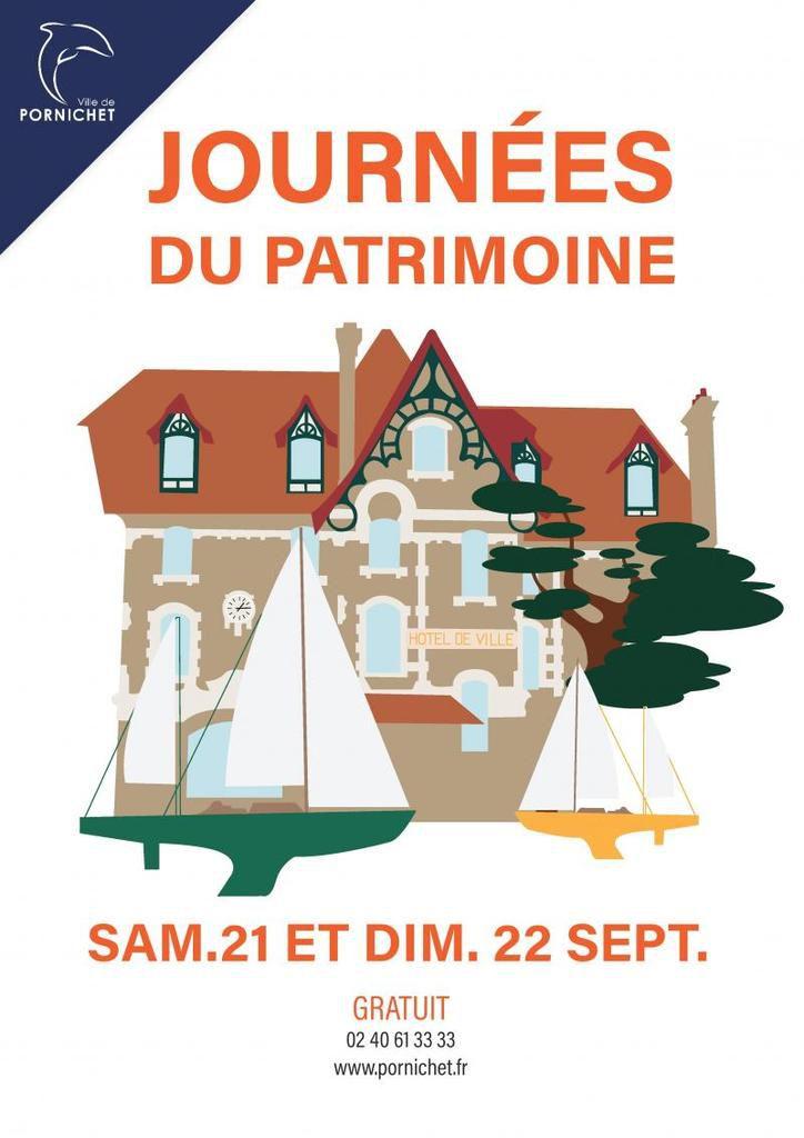 Pornichet - Journées Européennes du Patrimoine 21 & 22 septembre 2019