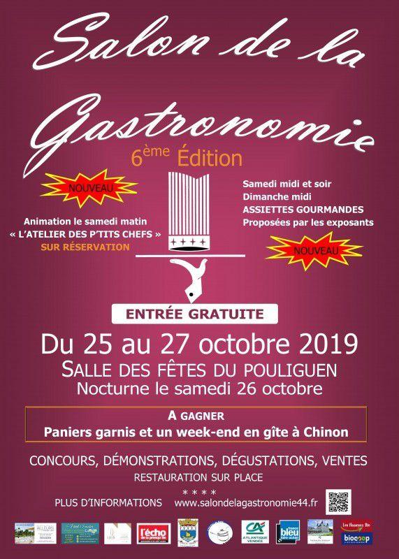 Le Salon de la gastronomie du Pouliguen des 25, 26 et 27 octobre 2019 - Les prix décernés