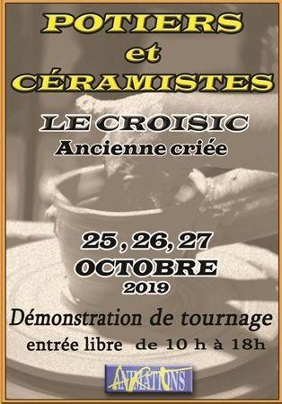 Le Croisic - Marché des Potiers et Céramistes - 25, 26 et 27 octobre 2019