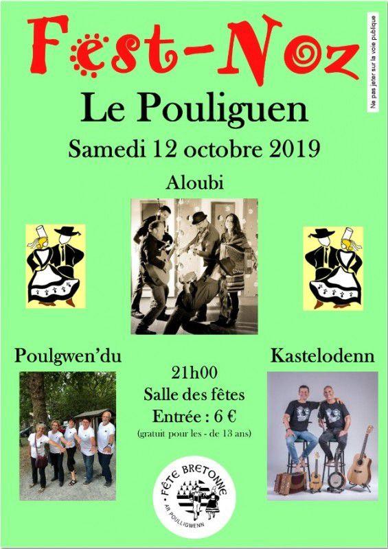 Le Pouliguen - Fest-noz - 12 octobre 2019