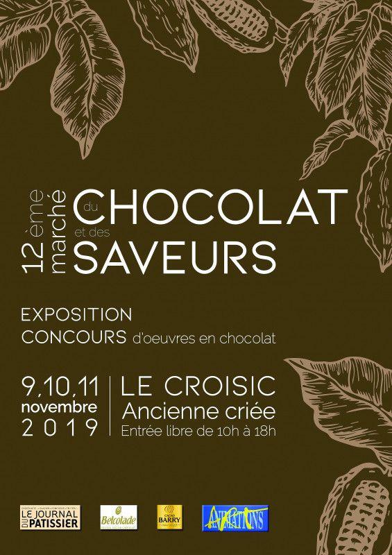 Le Croisic - Marché du chocolat et des saveurs - Palmarès - 9 au 11 novembre 2019