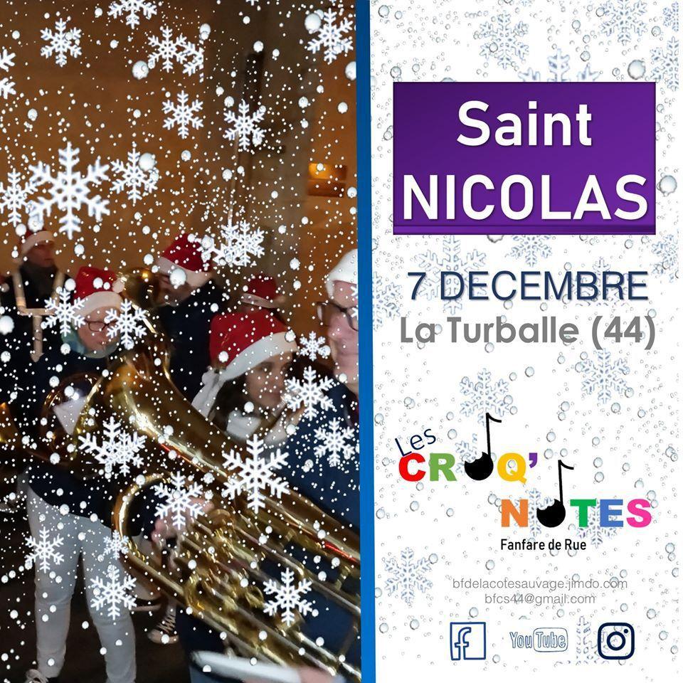 La Turballe - Défilé de la Saint Nicolas - Samedi 7 décembre 2019