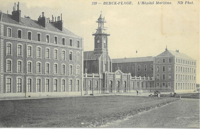 ©MLR - Collection particuliere -Berck Plage - L'Hôpital Marin