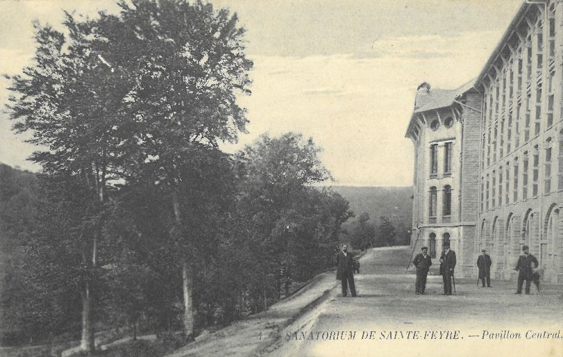 © MLR - Collection particulière - Sanatorium de Sainte Feyre - Pavillon Central