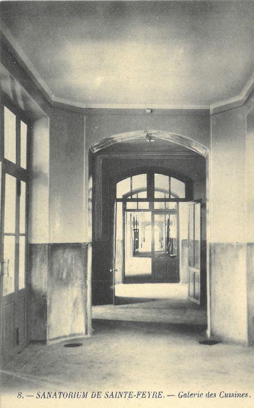 © MLR - Collection particulière - Sanatorium de Sainte Feyre - La Galerie des cuisines