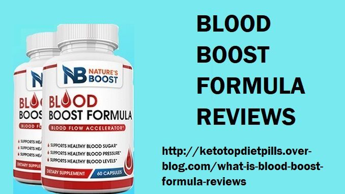 Blood Boost Formula Reviews