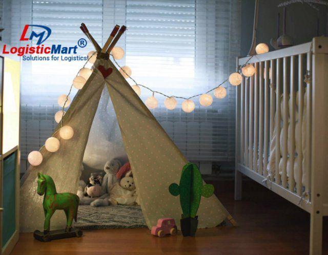 Packers and Movers in Agartala for Kid`s Room Shifting - LogisticMart
