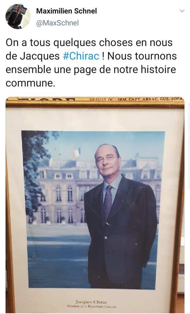 Nombreux hommages des politiques, journalistes et twittos à Jacques Chirac décédé à l'âge de 86 ans
