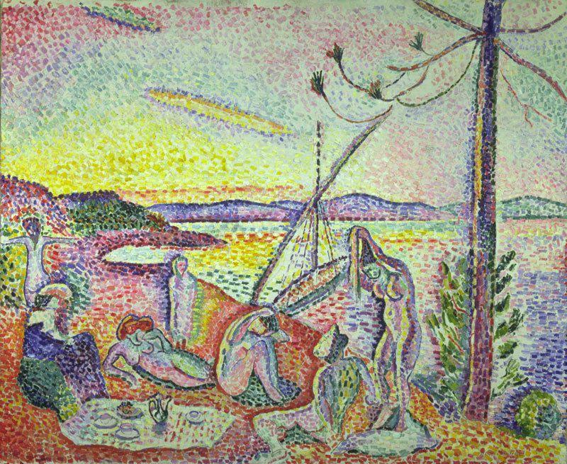 """""""Luxe, calme et volputé"""", Henri Matisse - 1904"""