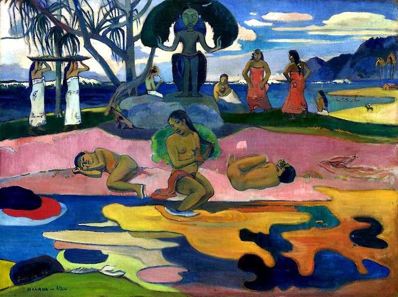 Mahana no atua (Le jour de Dieu), 1894 - Paul Gauguin