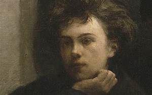 Arthur Rimbaud à 17 ans - par Fantin-Latour