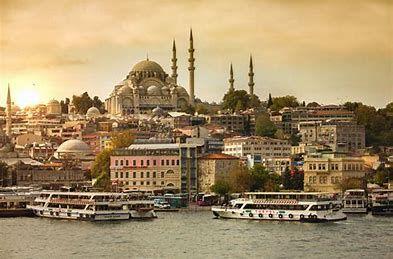 Constantinople, capitale de l'Empire Ottoman, est l'actuelle Istabul en Turquie