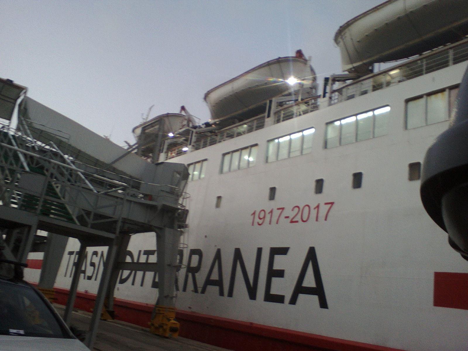 Traversée vers l'Algérie, été 2017