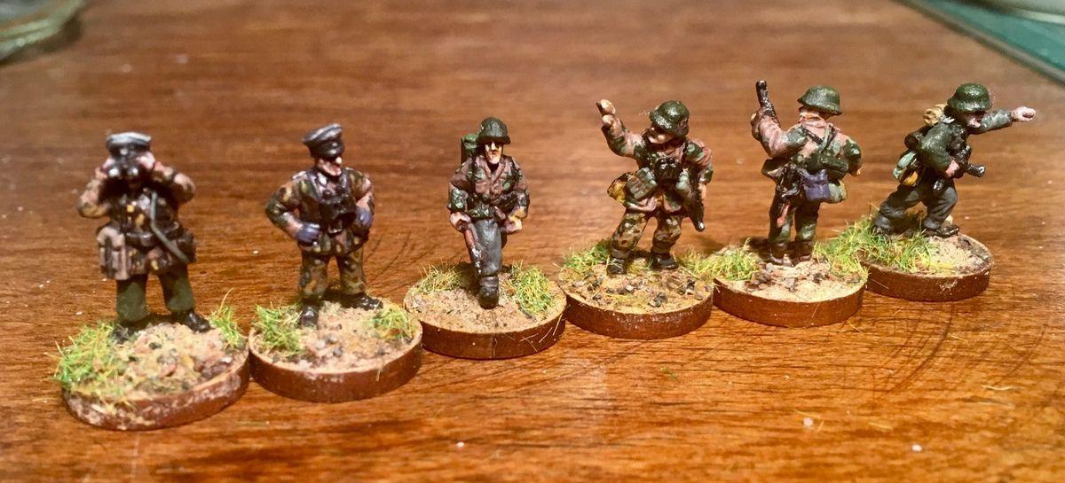 Les officiers et sous-officiers étaient quant à eux des hommes d'experience.