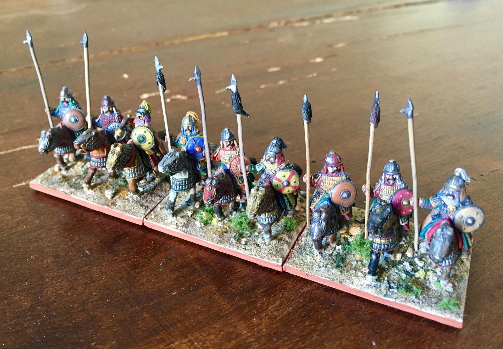 Les figurines sont des Legio Heroica.