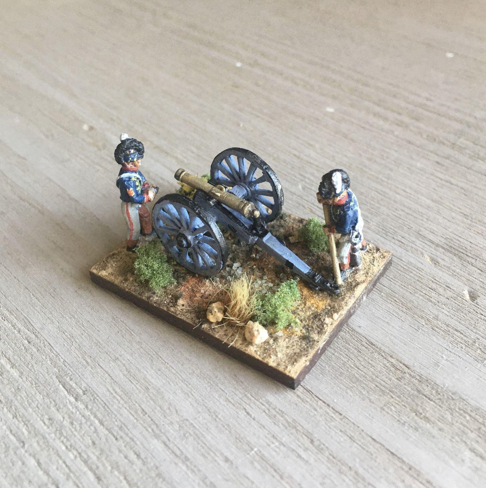 De Bussaco à Fuentes (9) : l'artillerie anglo-portugaise