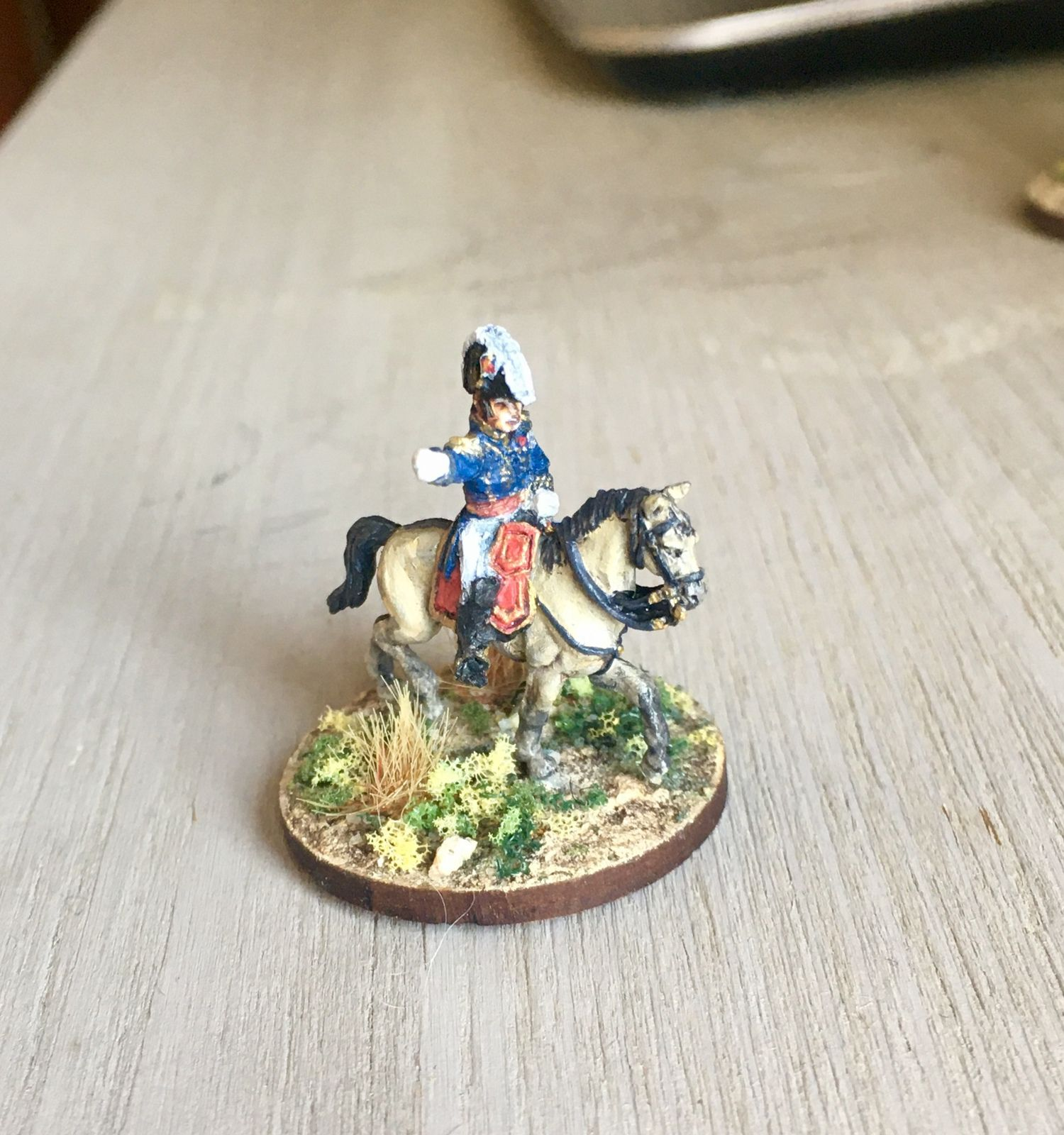 Figurines Warmodelling sur chevaux AB ou Old Glory