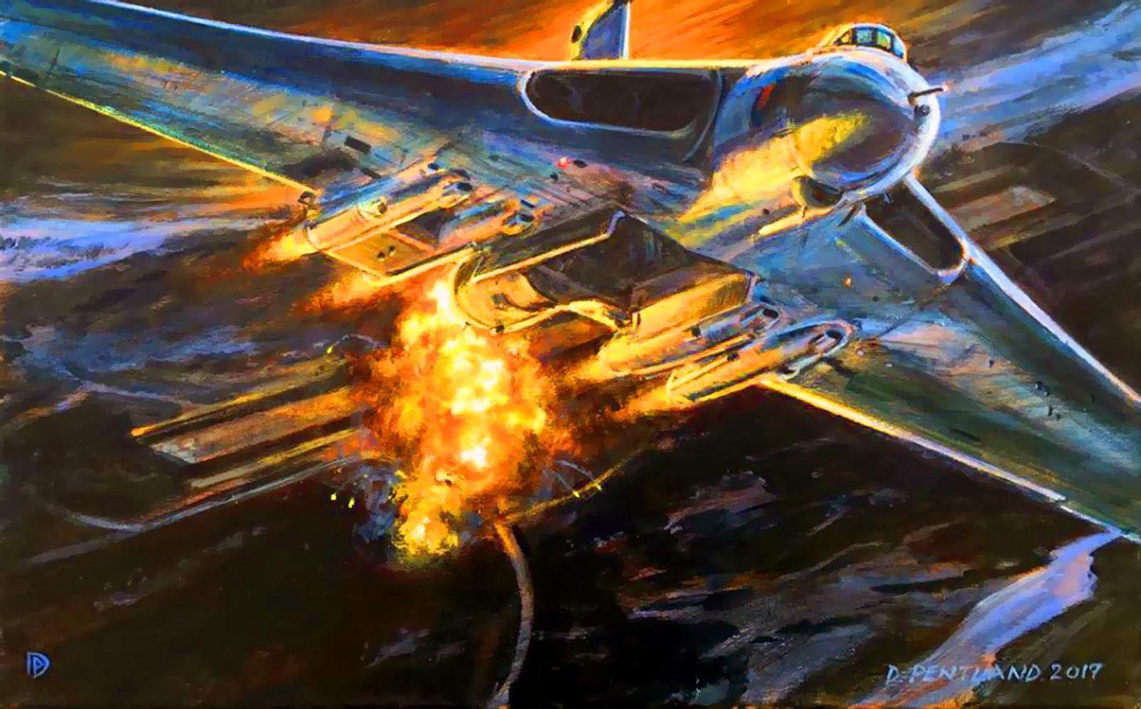 Missions Black Buck : les légendaires Avro Vulcan