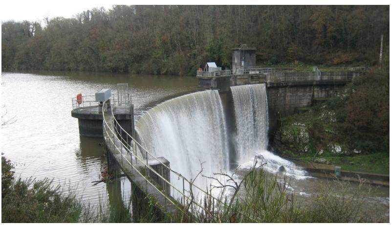 Barrage du PONT ROLLAND et son usine hydroélectrique