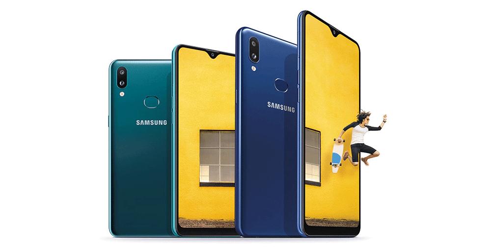 Samsung Galaxy A10s, batterie 4000 mah et lecteur d'empreintes
