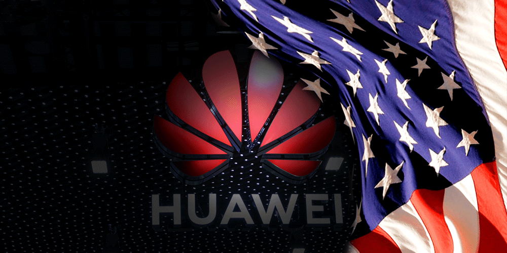Guerre commerciale - USA, Huawei
