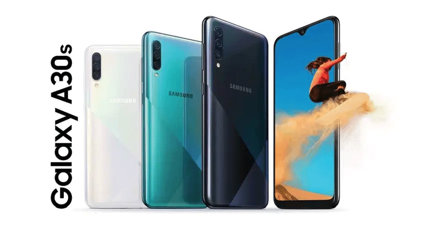 Samsung Galaxy A30s en France