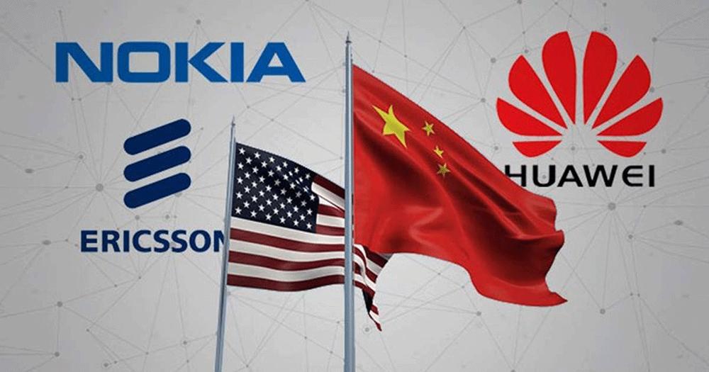 USA - nokia et ericsson contre Huawei