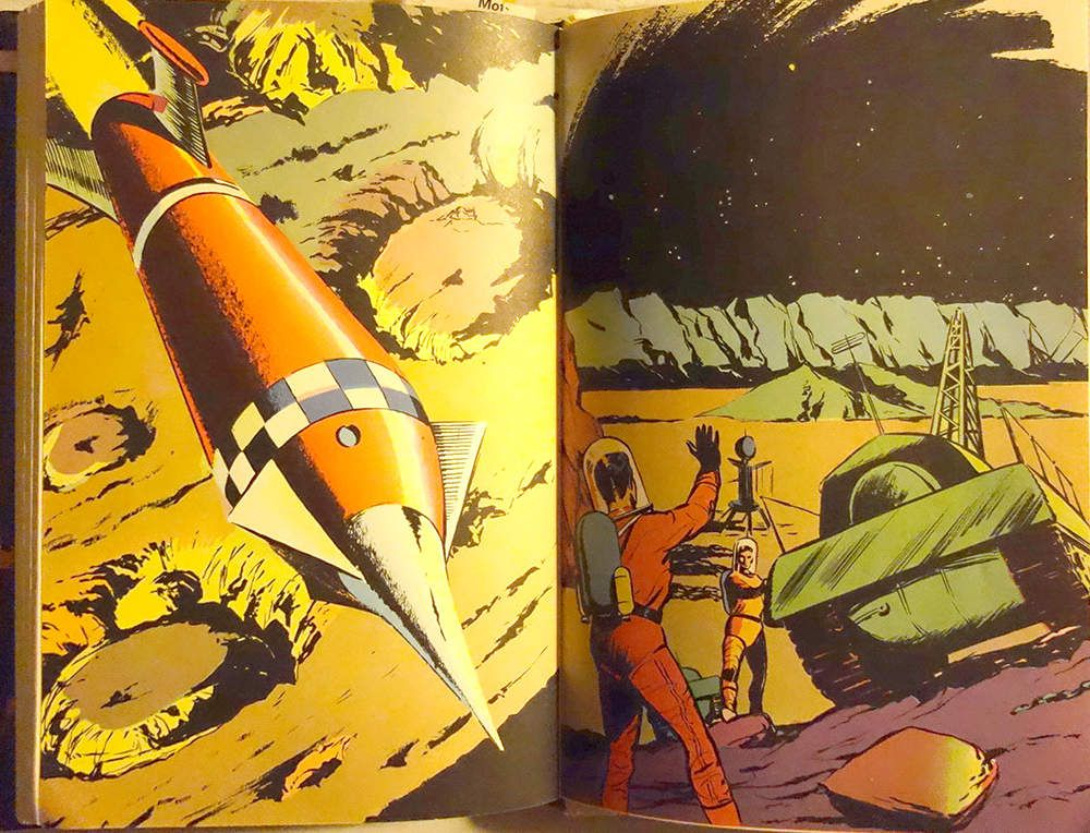Double page intérieure illustrée par Georges Brient