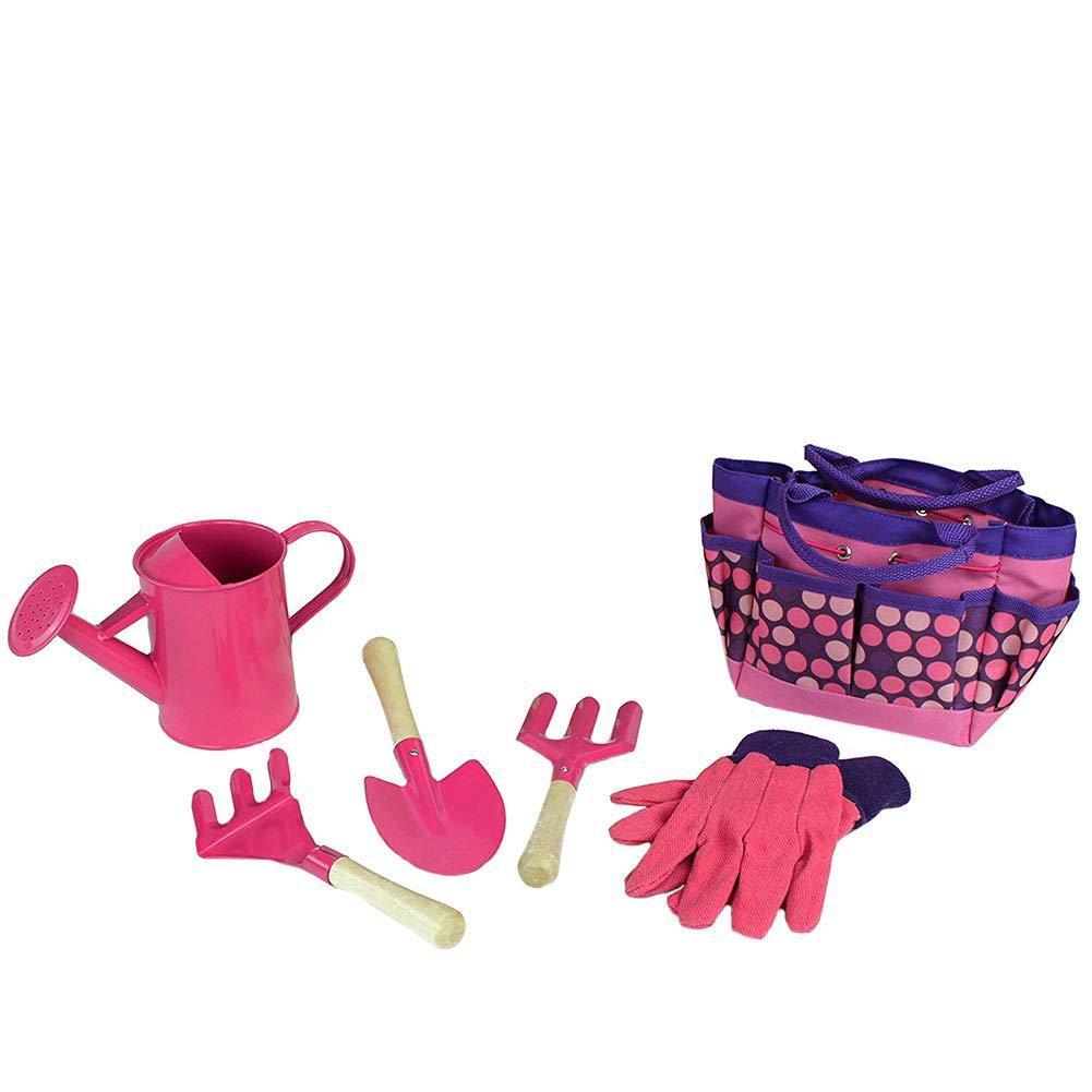 Les Outils De Jardinage Avec Photos enfants ensemble d'outils de jardinage avec des gants pelle