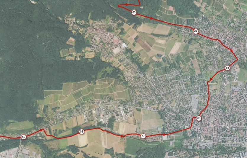 Parcours U2B 2021