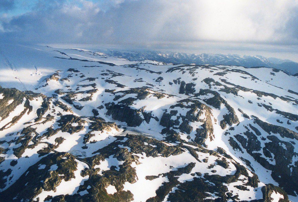 Norvège en juillet, vues de l'hydravion