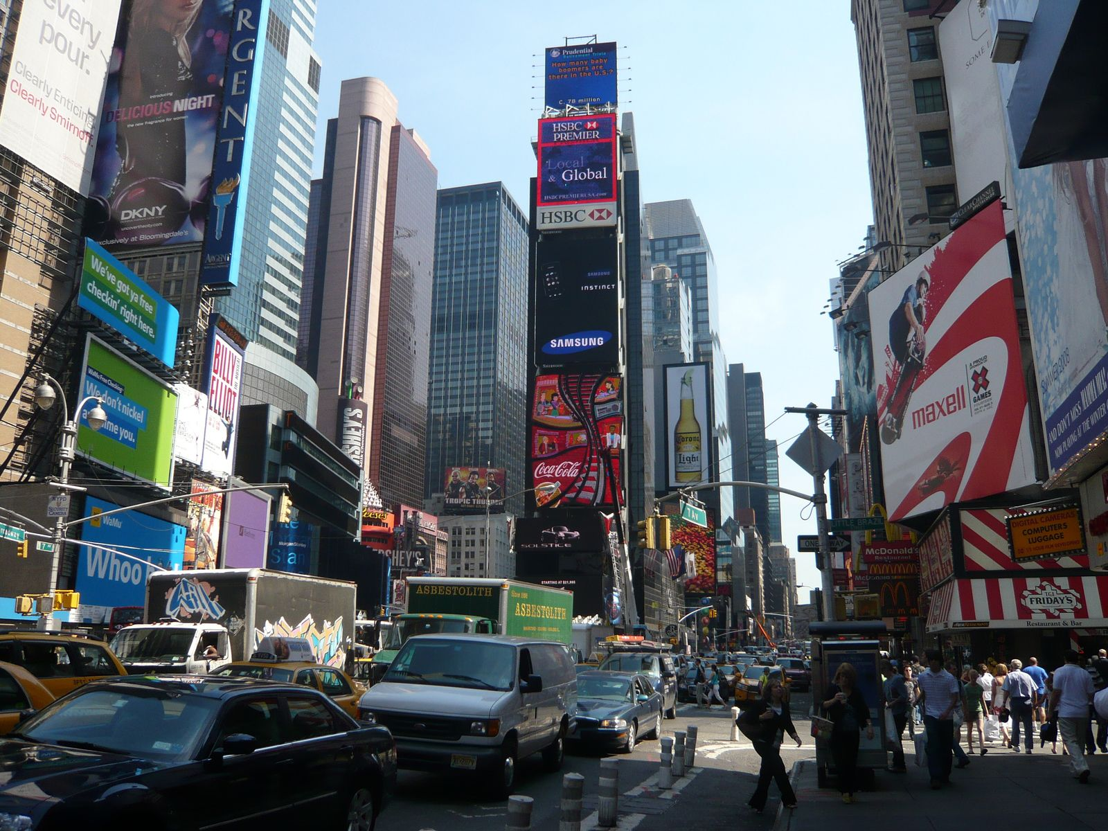 Une nuit à Times Square