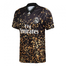 limited edition of real madrid ea sports black golden jerseys