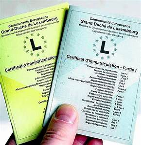Comment immatriculer une voiture Luxembourgeoise en France