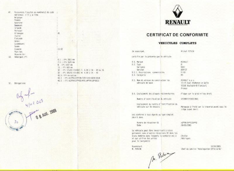 Certificat-de-Conformité-Gratuit-Renault