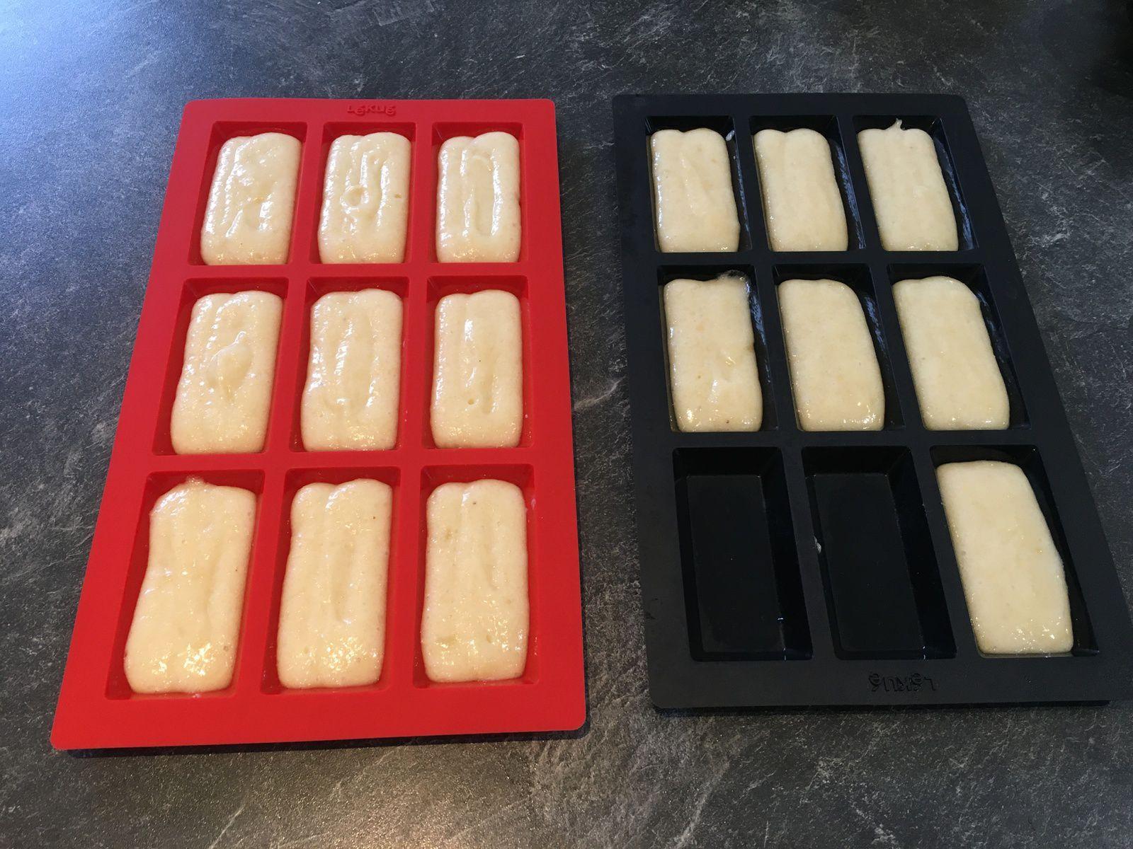 Financiers aux amandes (2 toppings au choix) - recycler des blancs d'oeuf