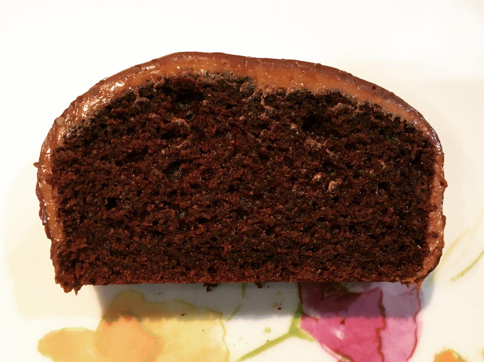 Ce cake est décadent ! (cake chocolat gianduja complètement addictif)