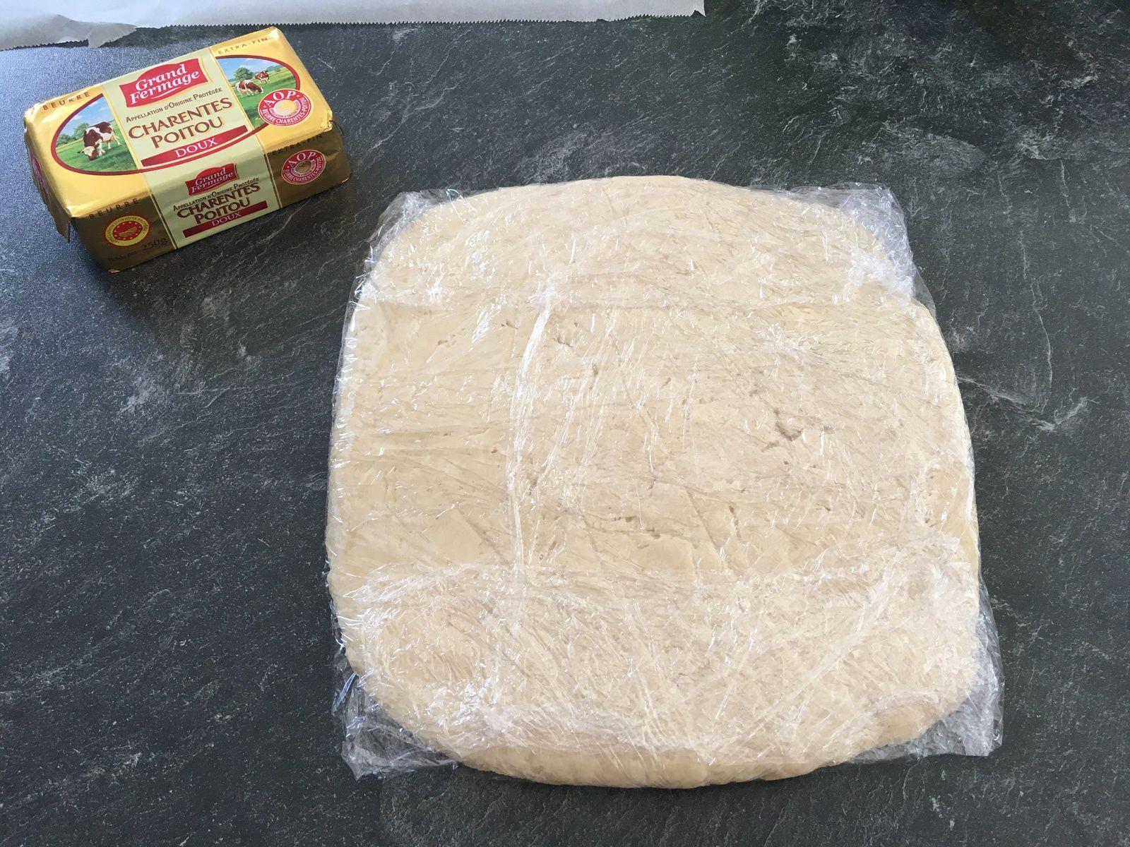 Mes premiers pains au chocolat (avec Thermomix)