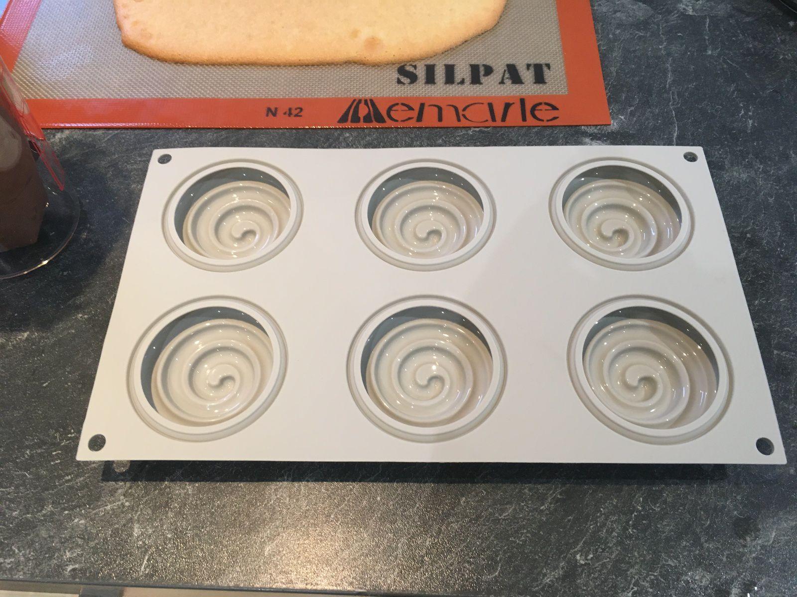 Tartelette entremets chocolat pécan