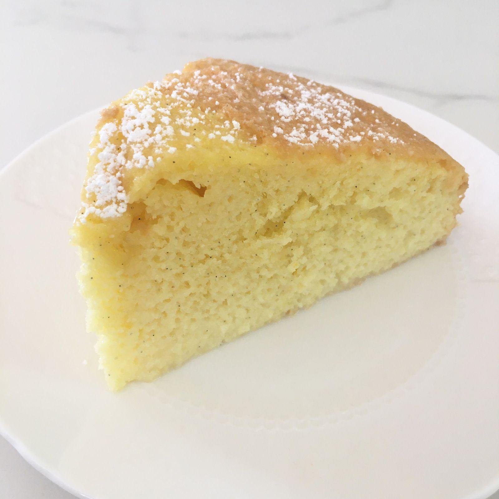 Gâteau imbibé à la vanille (gâteau aux 3 laits)