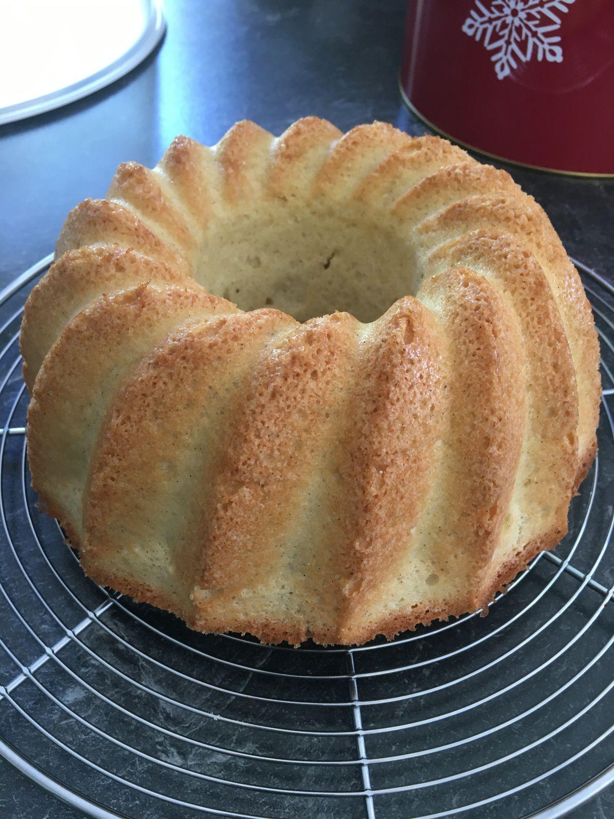 Gâteau vanille aux 8 blancs d'oeuf (recycler ses blancs d'oeuf congelés)