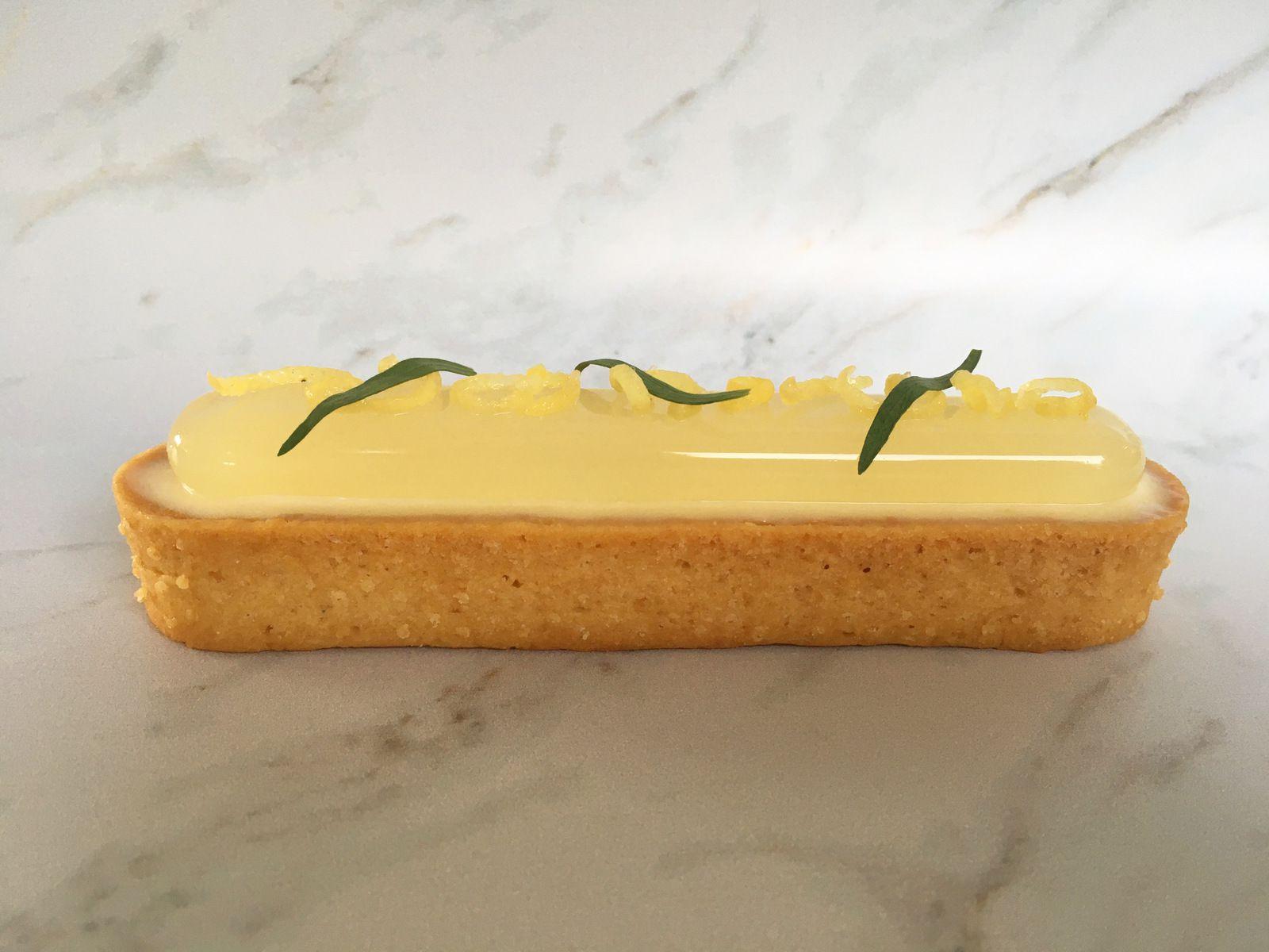 La tarte Citron-Estragon de Frédéric Bau