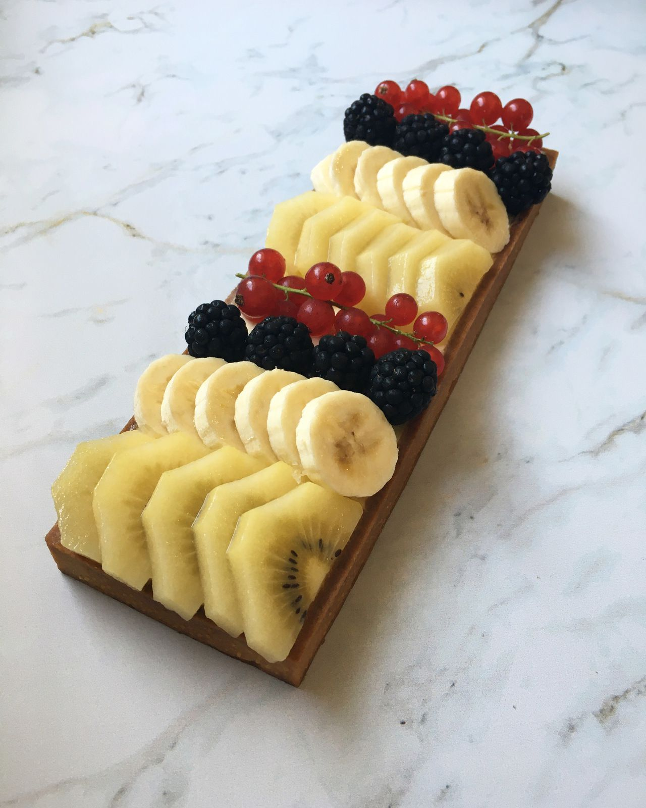 * La tarte aux fruits *